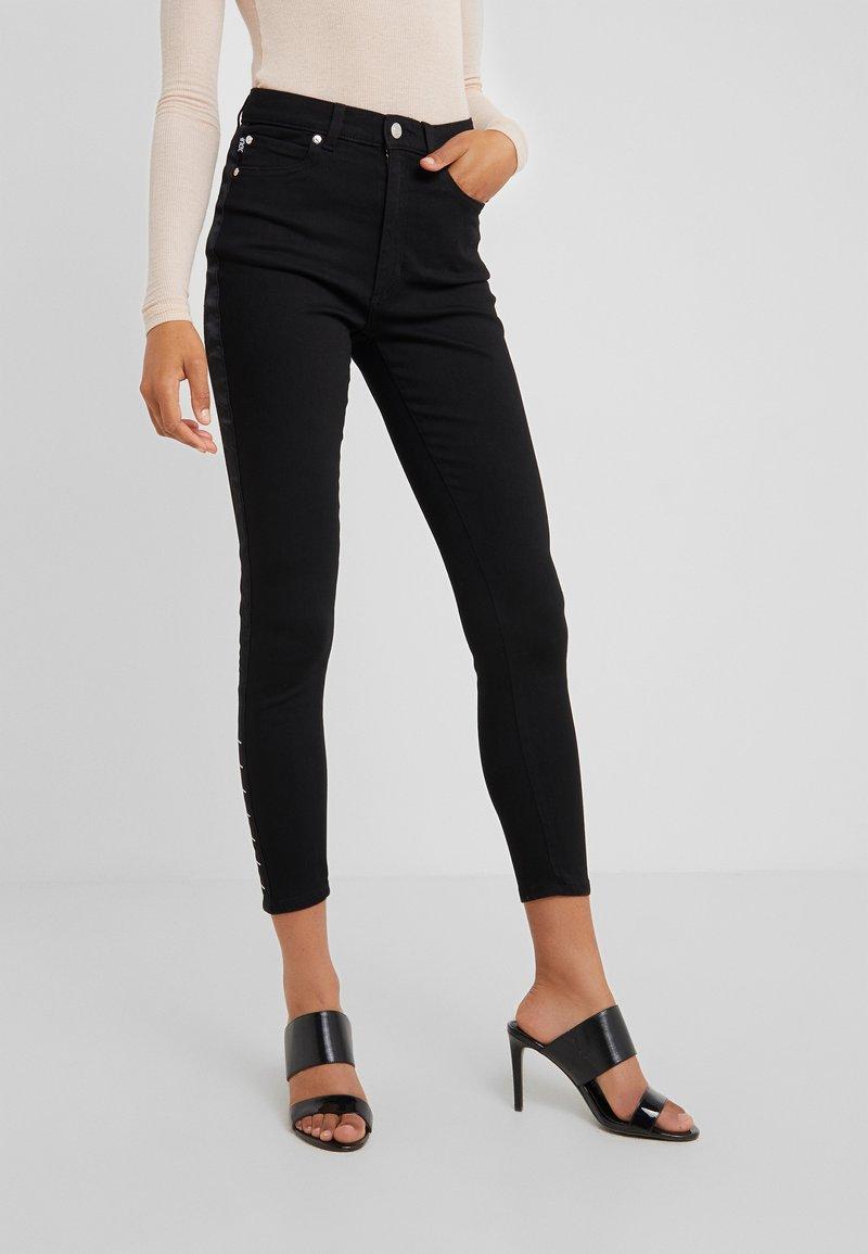 HUGO - LOU - Jeans Skinny - black