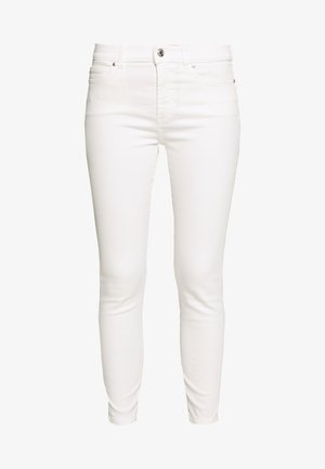 CHARLIE CROPPED - Jeans Skinny - white