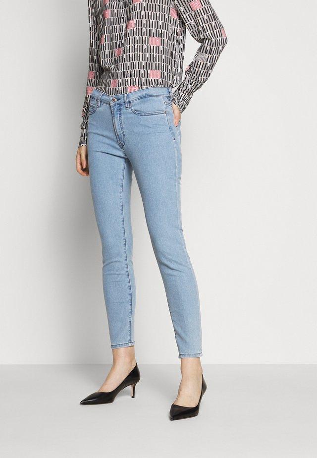 CHARLIE - Jeans Slim Fit - turquoise/aqua