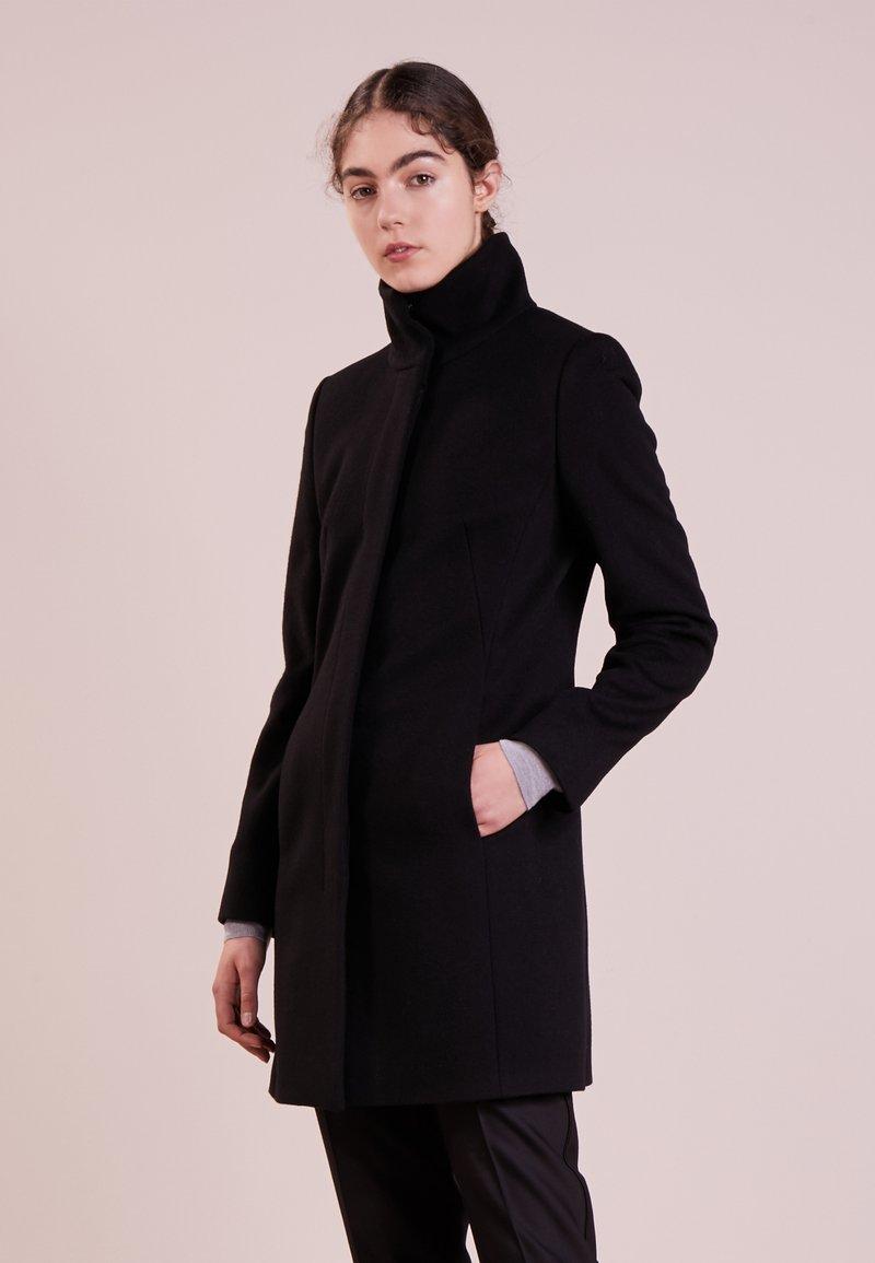 HUGO - MALU - Cappotto corto - black