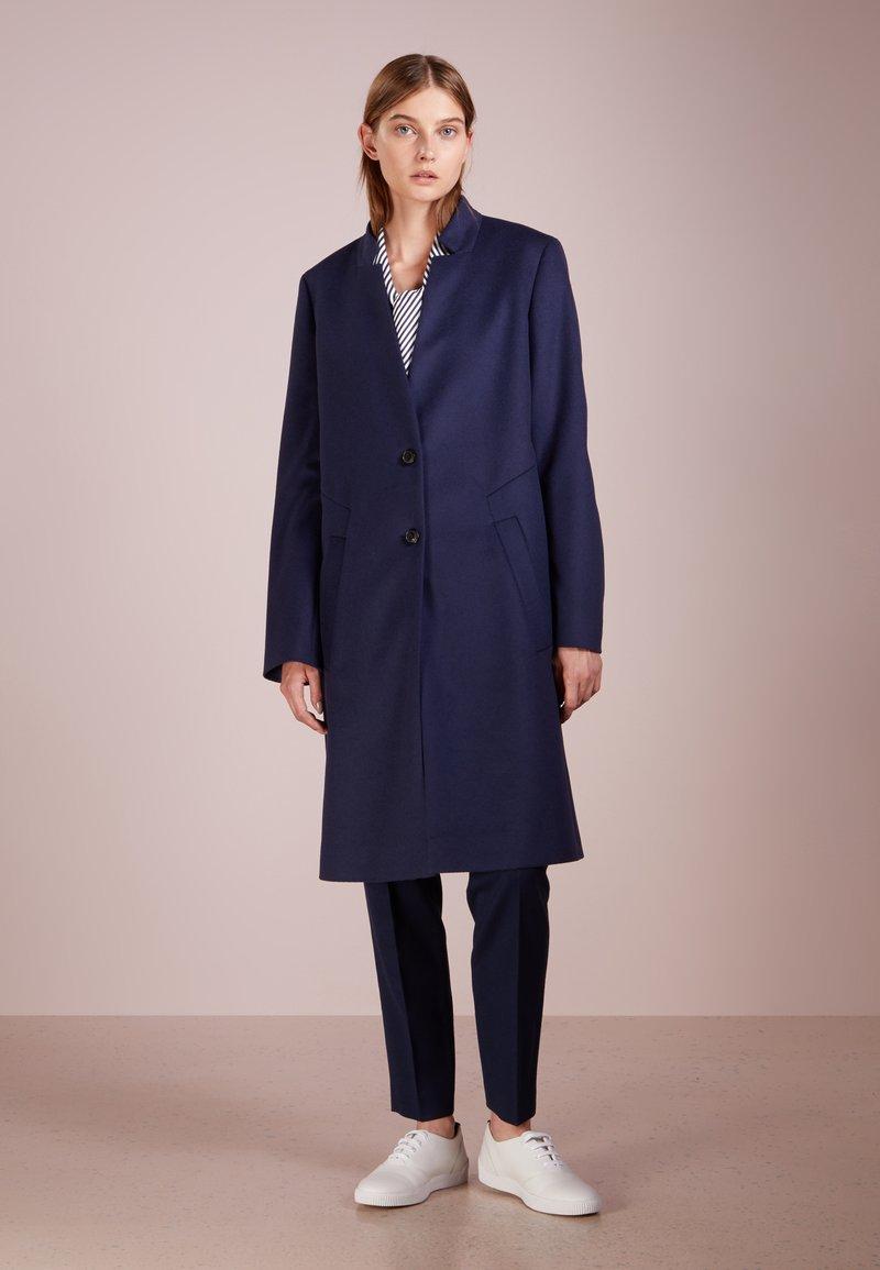 HUGO - MAGRETE - Classic coat - open blue