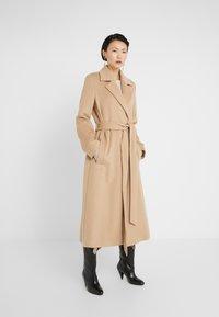 HUGO - MADERIA - Classic coat - medium beige - 0