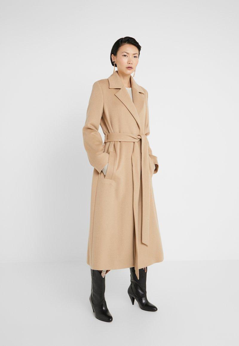 HUGO - MADERIA - Classic coat - medium beige