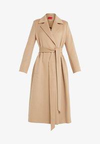 HUGO - MADERIA - Classic coat - medium beige - 4