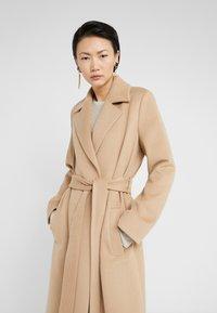 HUGO - MADERIA - Classic coat - medium beige - 5
