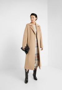 HUGO - MADERIA - Classic coat - medium beige - 1