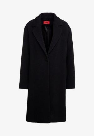 MARENAS - Classic coat - black
