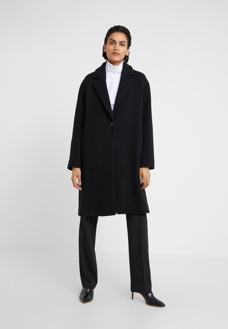 HUGO - MARENAS - Płaszcz wełniany /Płaszcz klasyczny - black