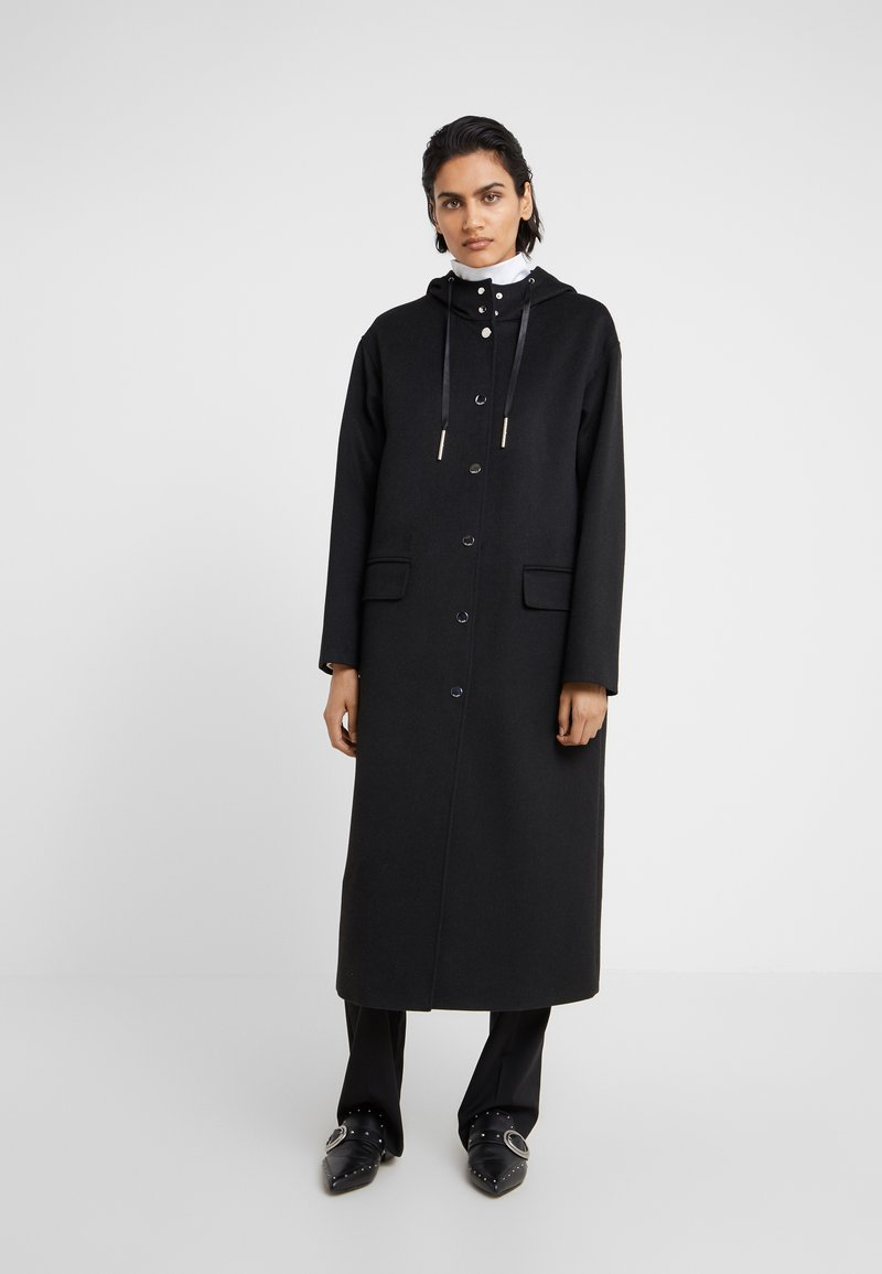 HUGO - MAIMA - Zimní kabát - black