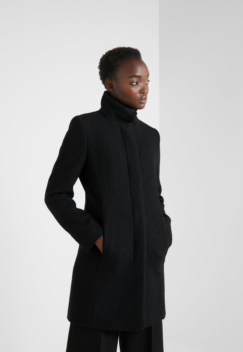 HUGO - MALU - Płaszcz wełniany /Płaszcz klasyczny - black