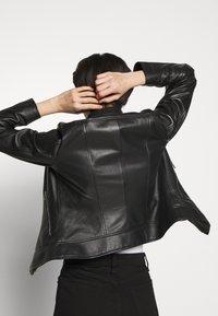 HUGO - LORENAS - Leather jacket - black - 5