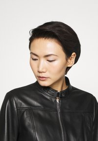 HUGO - LORENAS - Leather jacket - black - 3