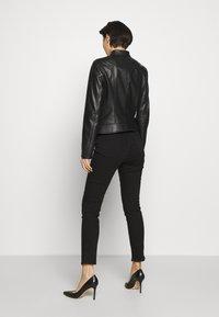 HUGO - LORENAS - Leather jacket - black - 2