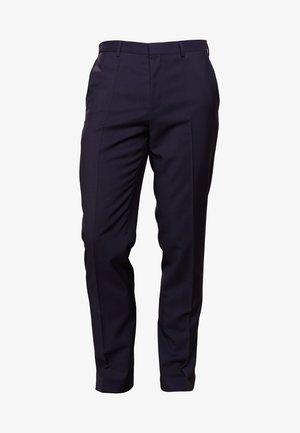 HARTLEYS - Suit trousers - dark blue