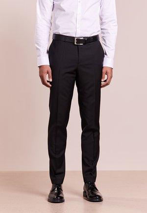 HARTLEYS - Oblekové kalhoty - black