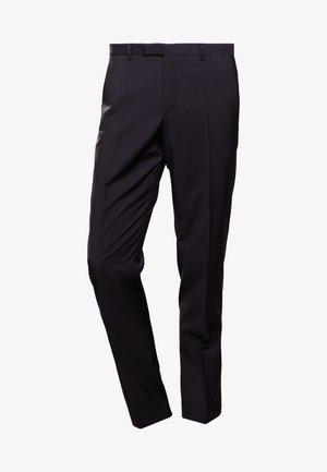 SIMMONS - Spodnie garniturowe - black