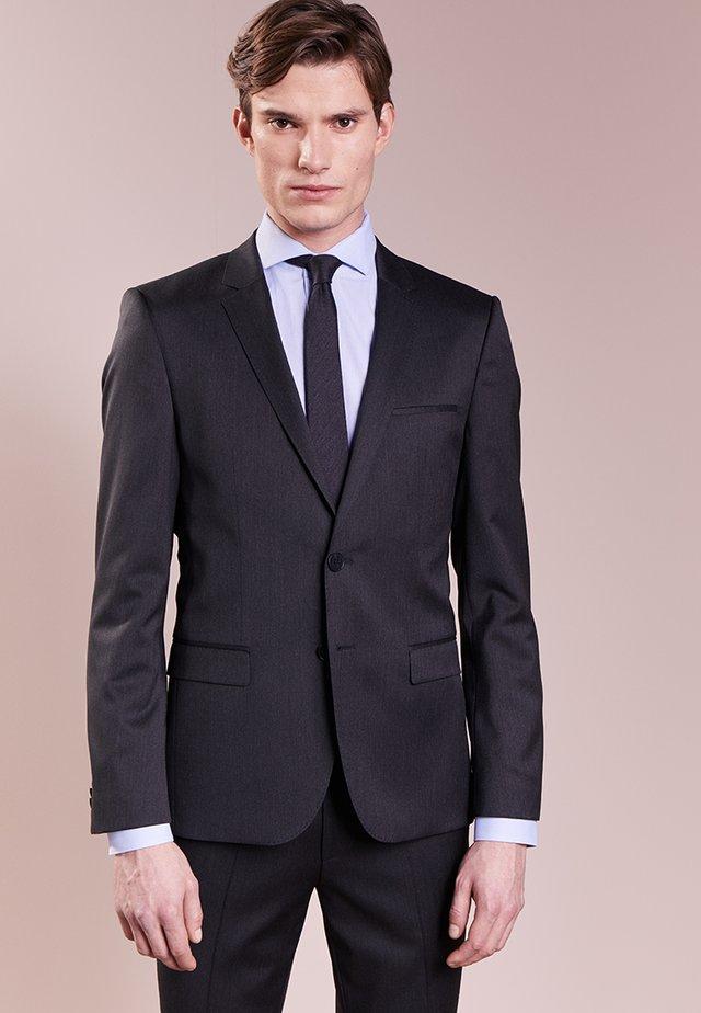 ALISTER - Suit jacket - charcoal