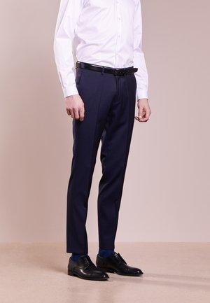 HENFORD - Oblekové kalhoty - dark blue