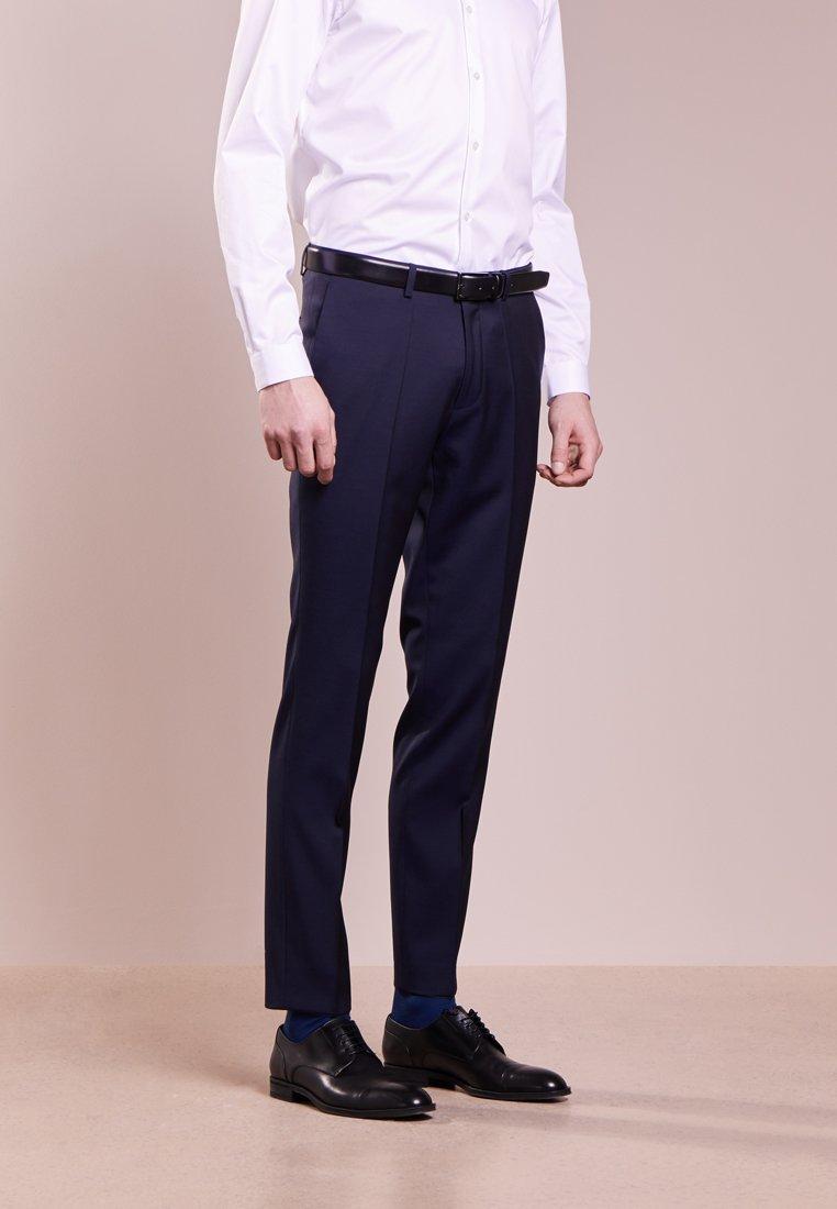 HUGO - HENFORD - Pantaloni eleganti - dark blue