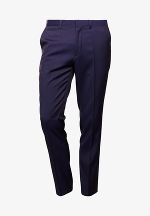 HENFORD - Pantaloni eleganti - dark blue