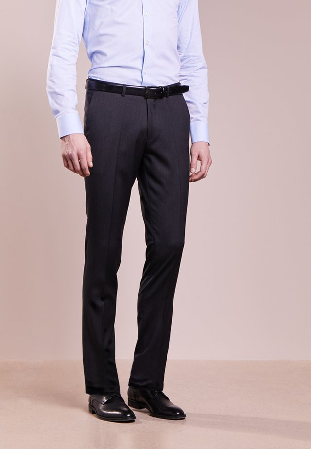 HENFORD - Pantalon de costume - charcoal