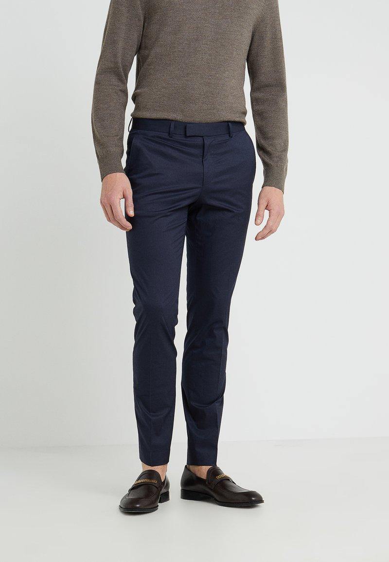 HUGO - HEIRON - Suit trousers - dark blue