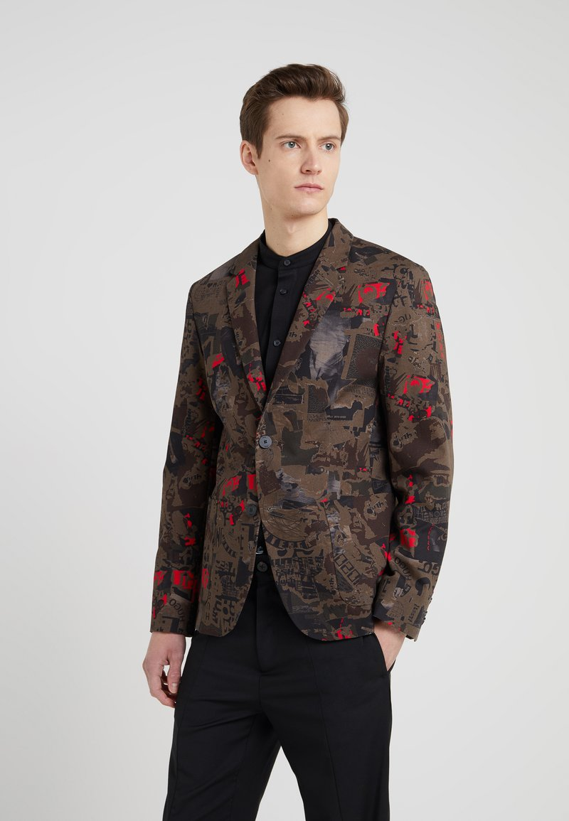 HUGO - ARELTU - Blazer jacket - medium brown