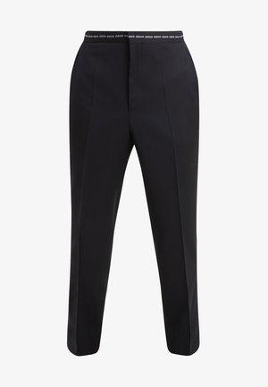 HENING - Pantalón de traje - black
