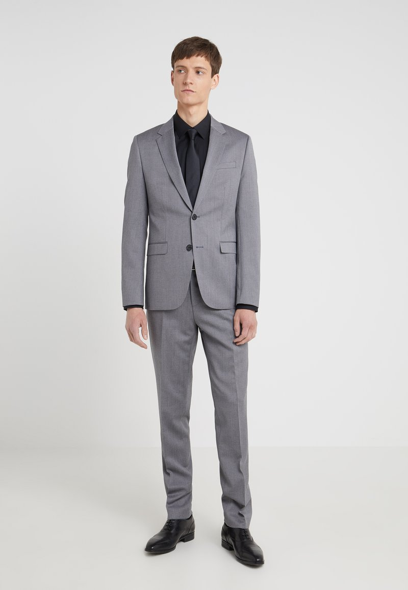 HUGO - ASTIAN HETS - Suit - medium grey