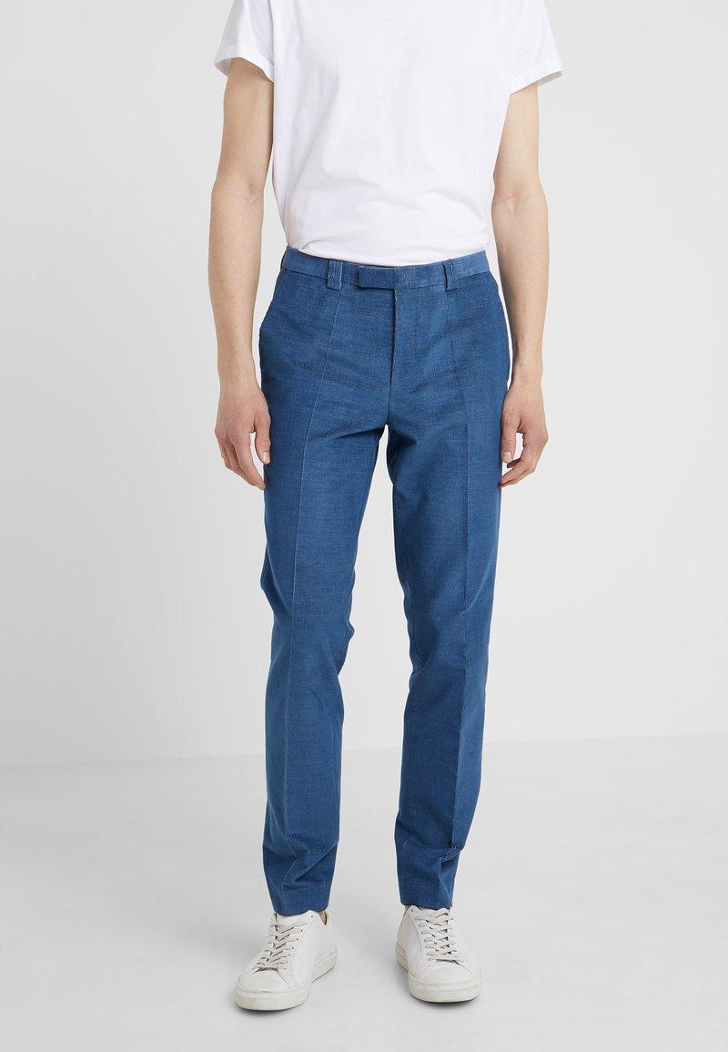 HUGO - HESTEN - Pantalon classique - medium blue