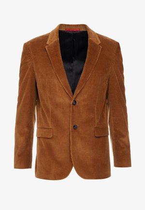 HERMAN - Chaqueta de traje - cognac