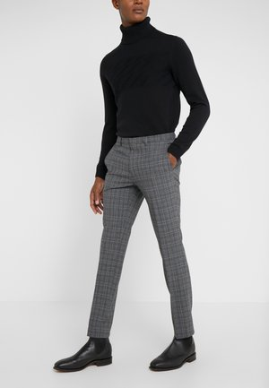 HESTEN - Suit trousers - open grey