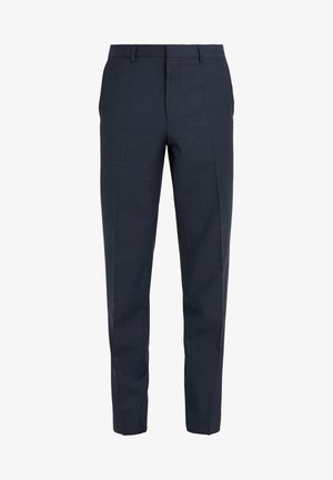 HESTEN - Suit trousers - dark blue