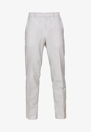 HELO - Oblekové kalhoty - open grey