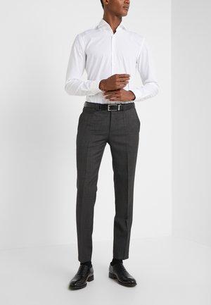 HESTEN - Oblekové kalhoty - charcoal