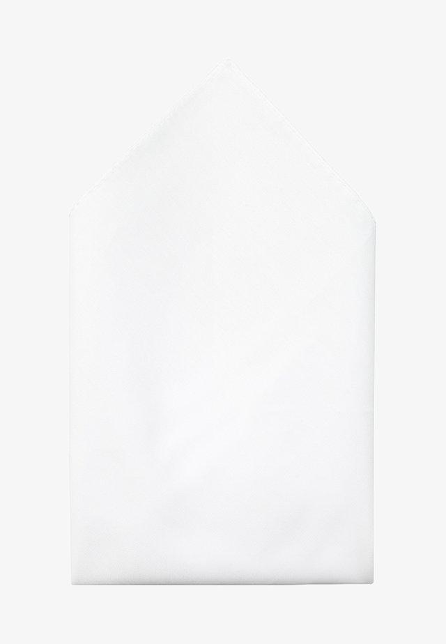 POCKETSQUARE - Taskuliina - open white
