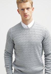 HUGO - ELISHA EXTRA SLIM FIT - Koszula biznesowa - open white - 3