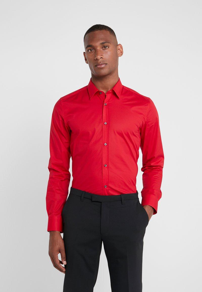 HUGO - ELISHA EXTRA SLIM FIT - Koszula biznesowa - medium red