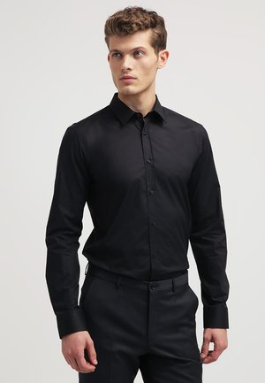 ELISHA EXTRA SLIM FIT - Formal shirt - black