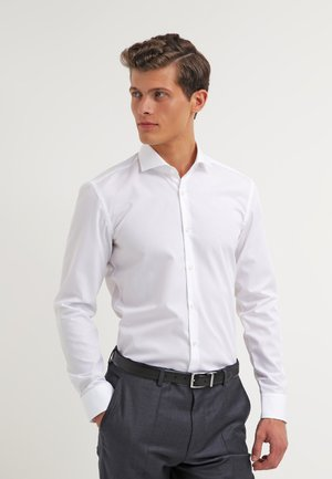 JASON SLIM FIT - Finskjorte - open white