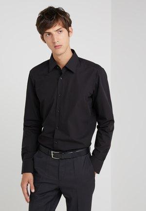 ENZO REGULAR FIT     - Camisa elegante - black