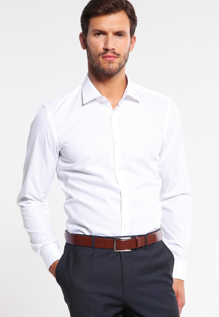 HUGO - JACQUES SLIM FIT - Camicia elegante - open white