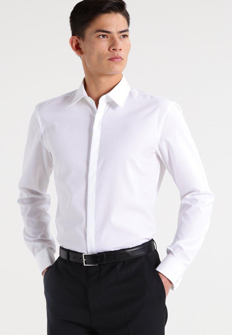HUGO - ILIAS SLIM FIT - Camisa elegante - open white