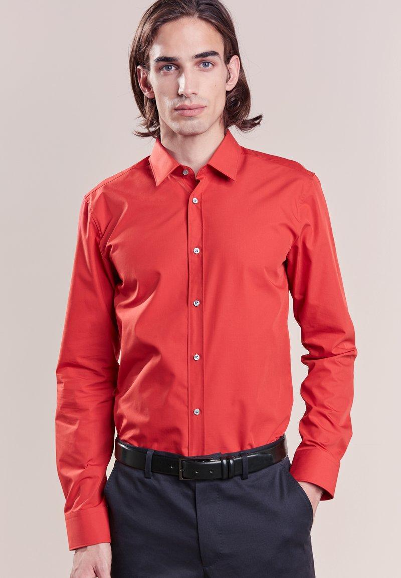 HUGO - ELISHA EXTRA SLIM FIT - Koszula biznesowa - red