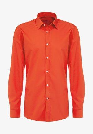 ELISHA EXTRA SLIM FIT - Koszula biznesowa - dark orange
