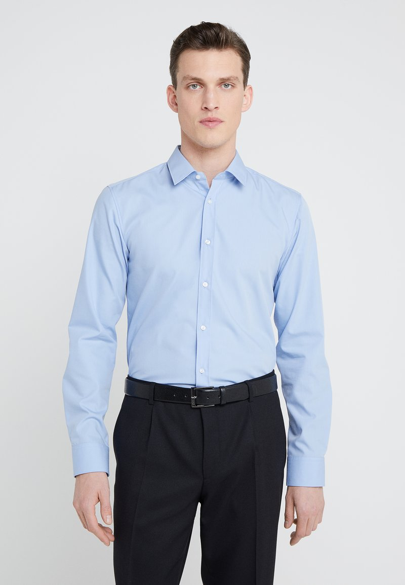 HUGO - ELISHA EXTRA SLIM FIT - Camicia elegante - light blue