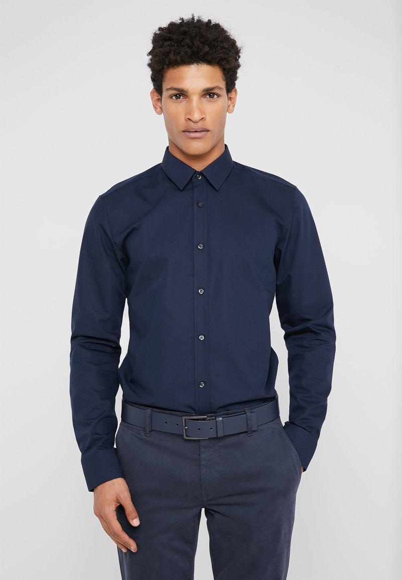 HUGO - ELISHA EXTRA SLIM FIT - Camicia elegante - navy