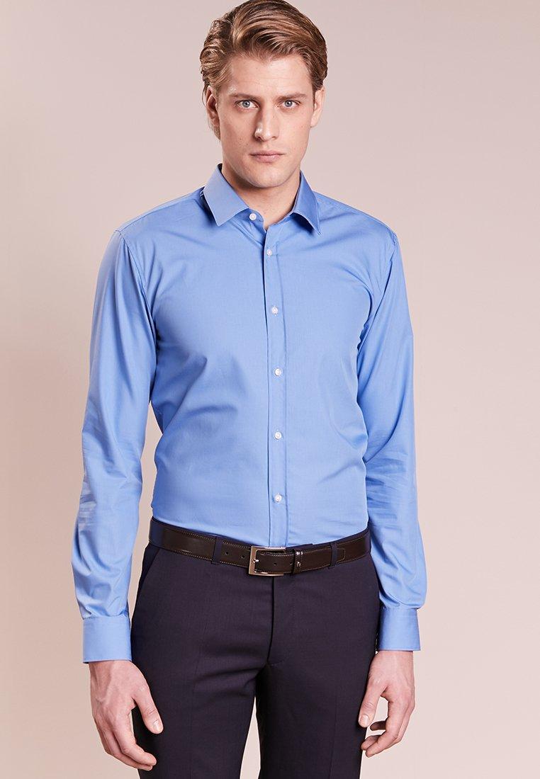 HUGO - ELISHA EXTRA SLIM FIT - Koszula biznesowa - light blue