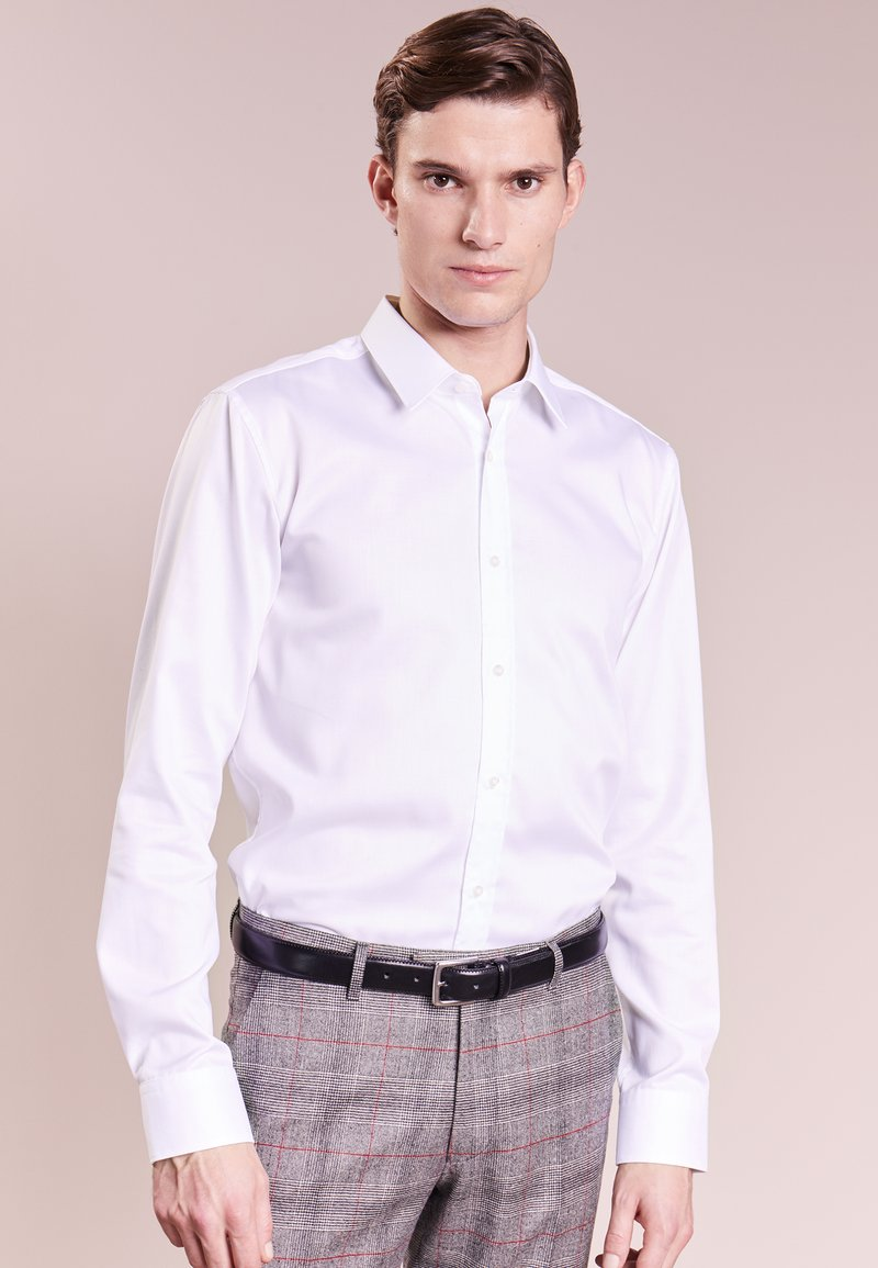 HUGO - ELISHA SLIM FIT - Businesshemd - white