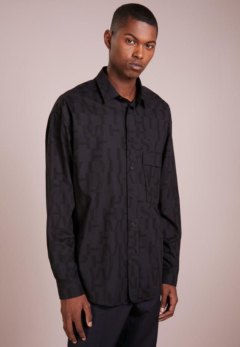 HUGO - ERY - Hemd - black